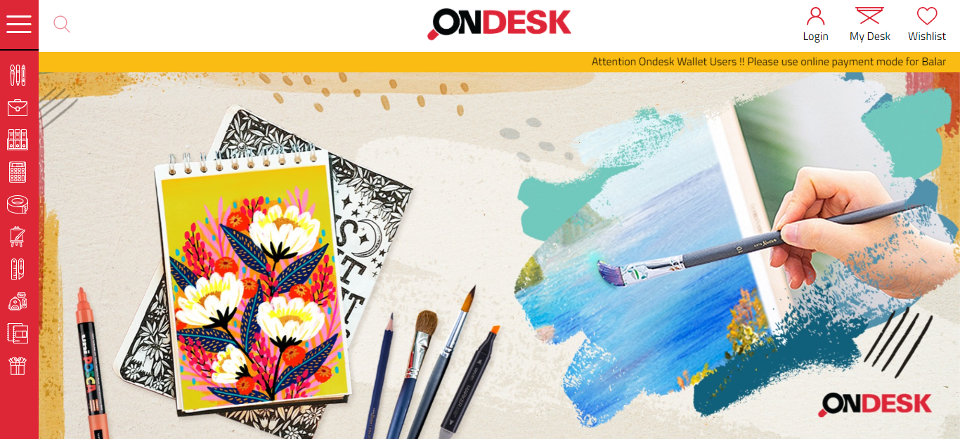 OndeskOffice Suppliers - E-commerce