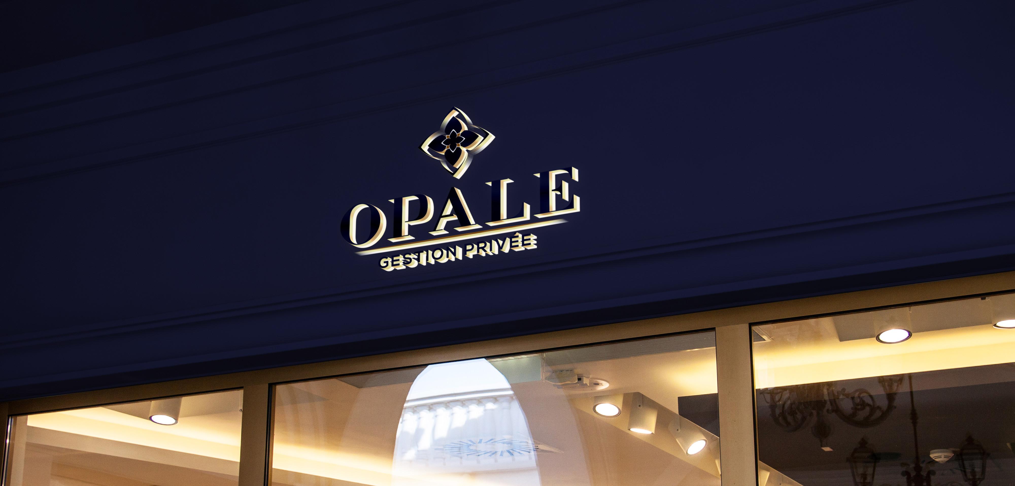 OPALE GESTION PRIVÉE - Création identité visuelle - Stratégie digitale