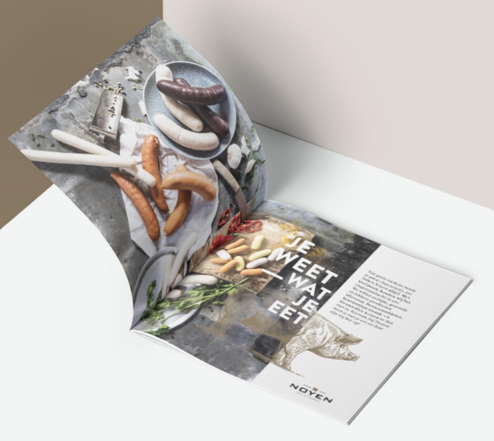 Noyen - Brochure, Copy,  Packaging, Namesearch - Branding & Positionering