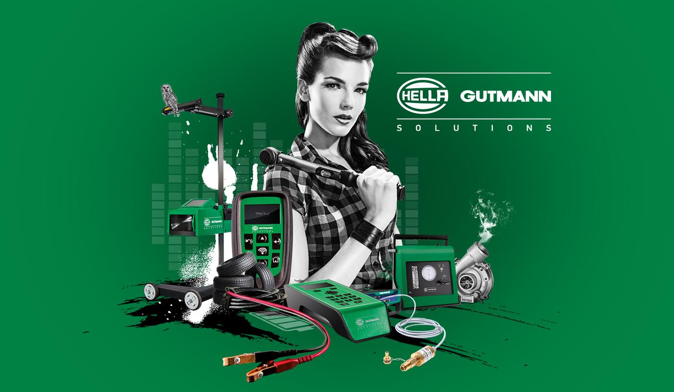 Hella Gutmann Solutions: Markenaufbau seit 2004 - Markenbildung & Positionierung