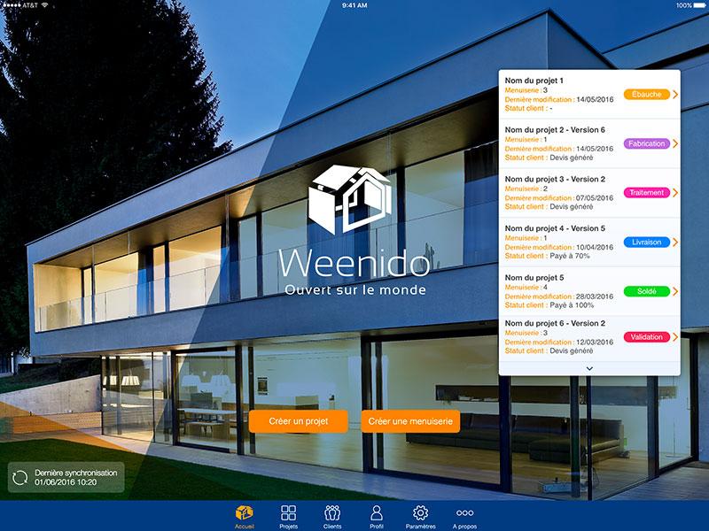 Weenido   Application mobile
