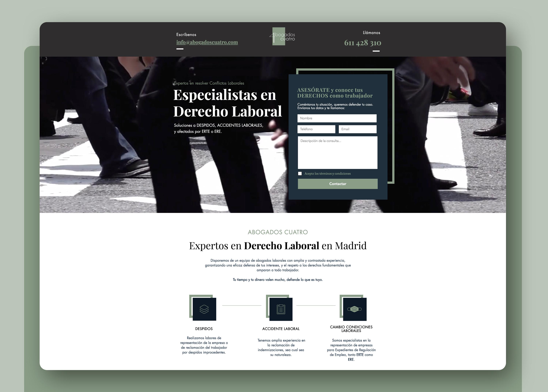 Creación de sitio web + Publicidad + SEM