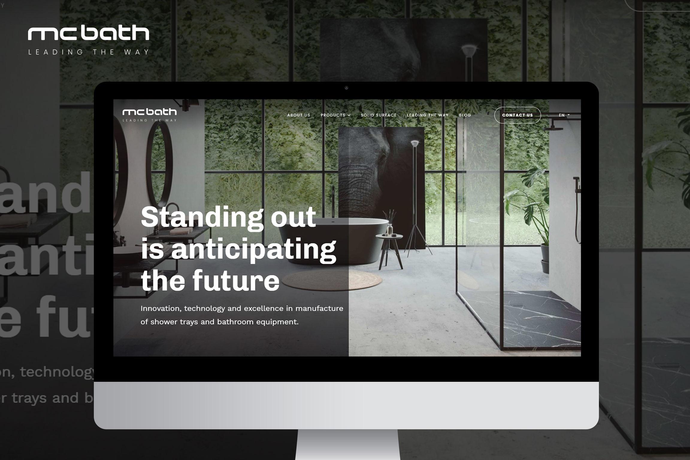 Desarrollo de la identidad de una marca: mcbath - Estrategia digital