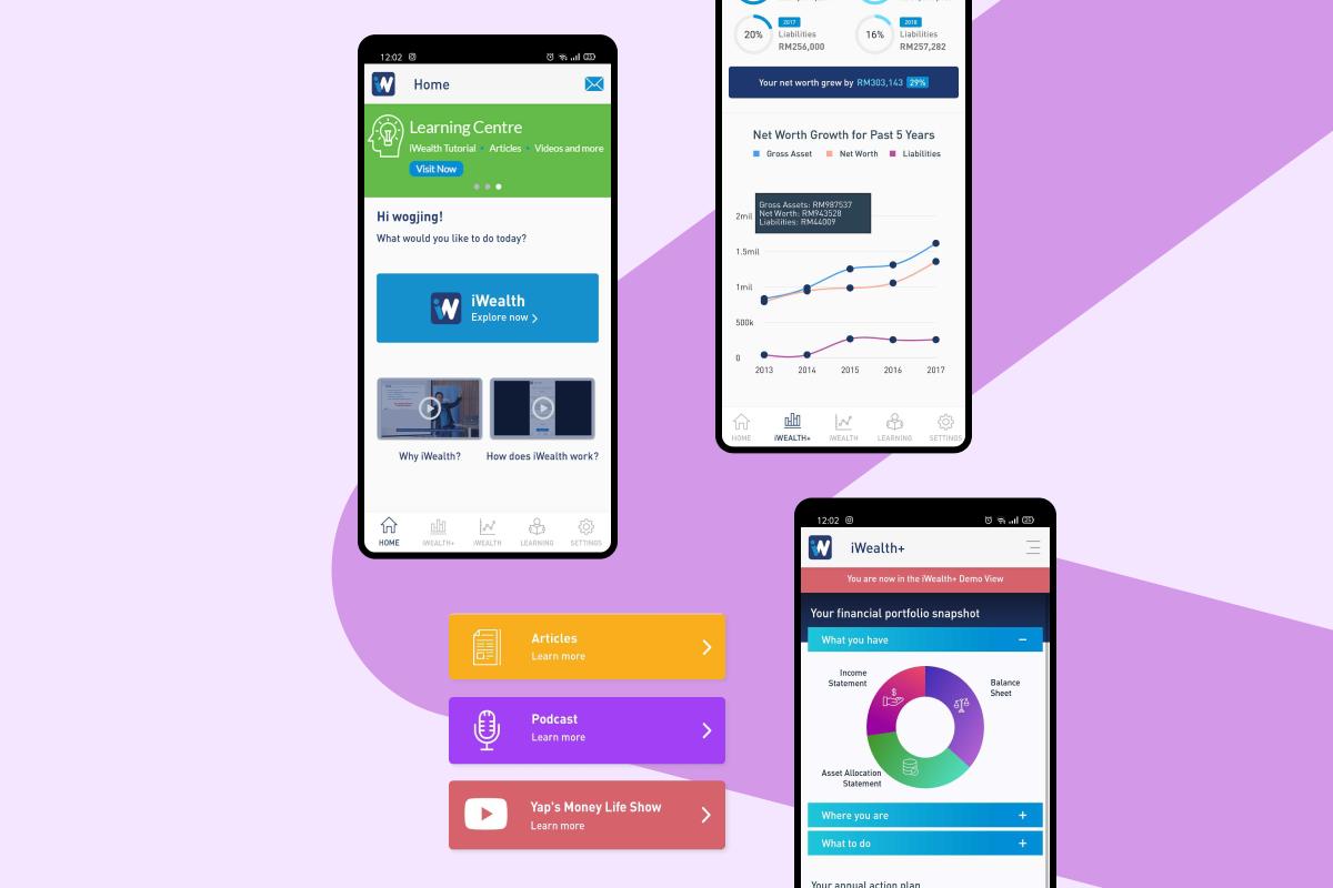 iWealth - Mobile App
