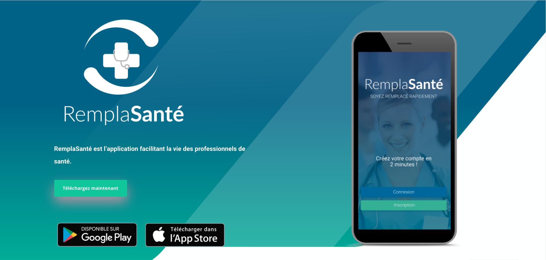 Remplasanté - Application mobile