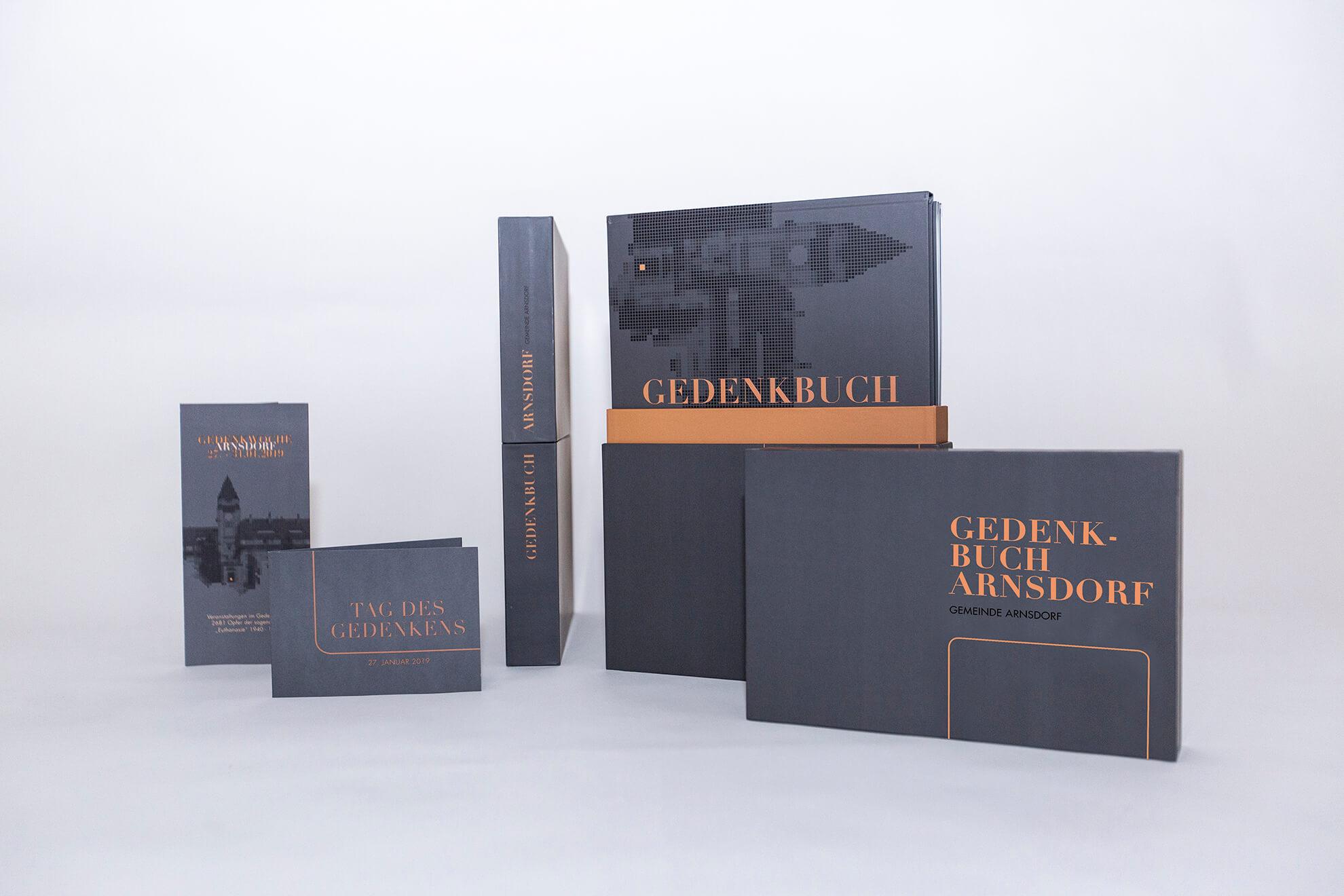 Gedenkbuch – Gemeinde Arnsdorf - Werbung