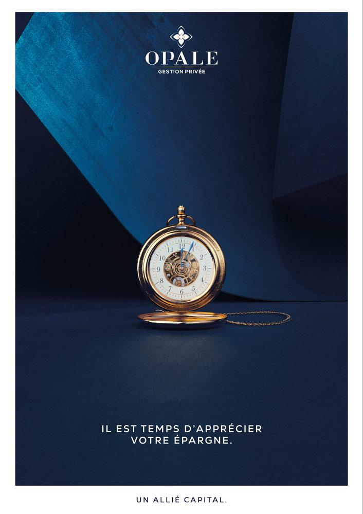 OPALE GESTION PRIVÉE - Campagne publicitaire - Publicité