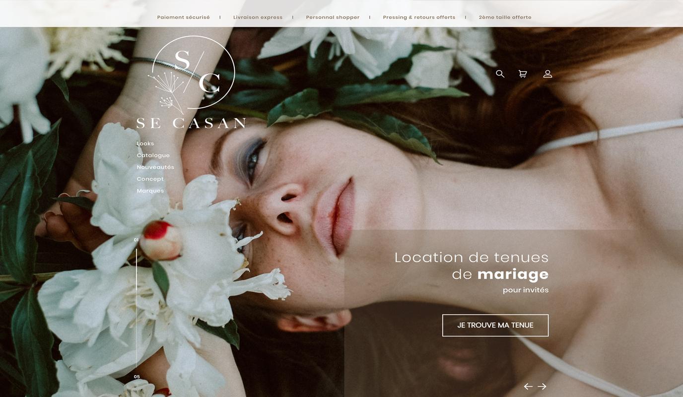 Se Casan   Site web E-commerce durable