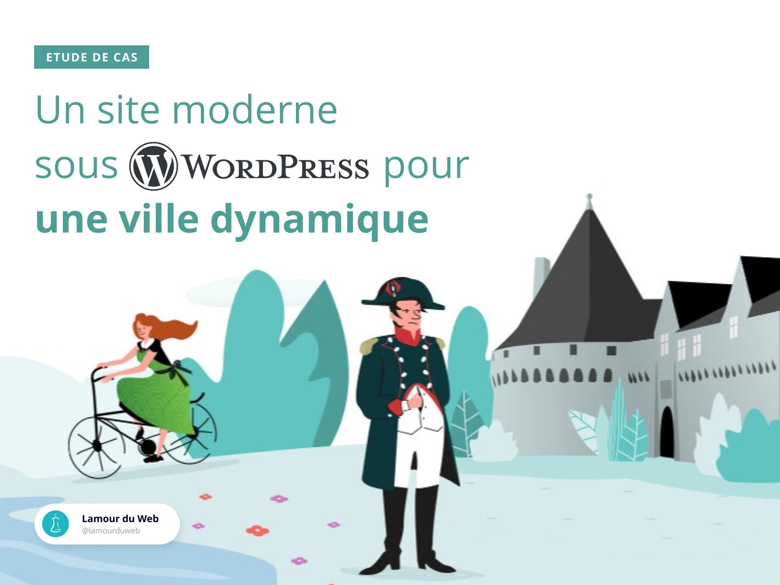 Ville de Pontivy - Création de site internet