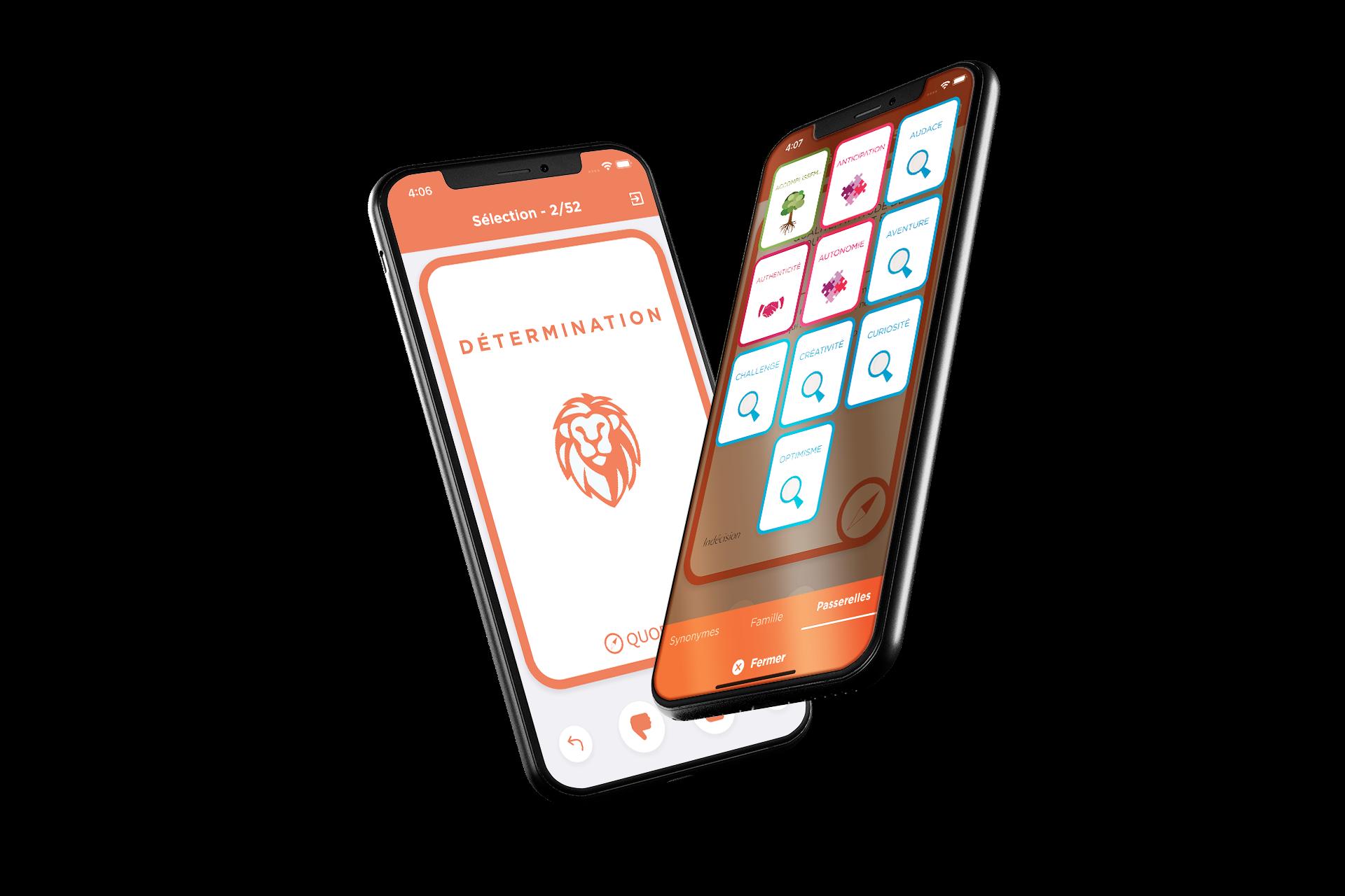 Quorsum - Application mobile