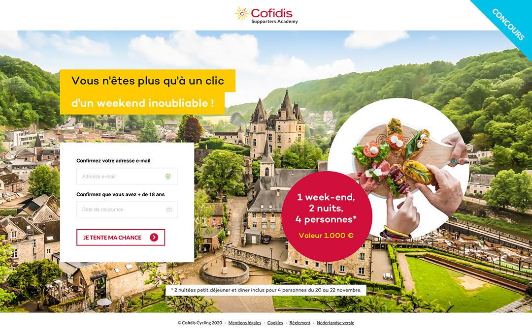 Cofidis Cyclo 1 - Stratégie digitale