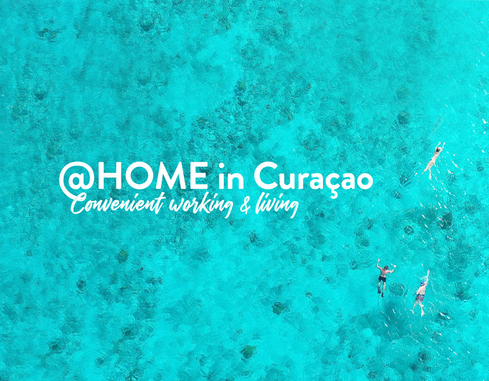 @HOME in Curaçao: Convenient working & living - Branding & Positionering