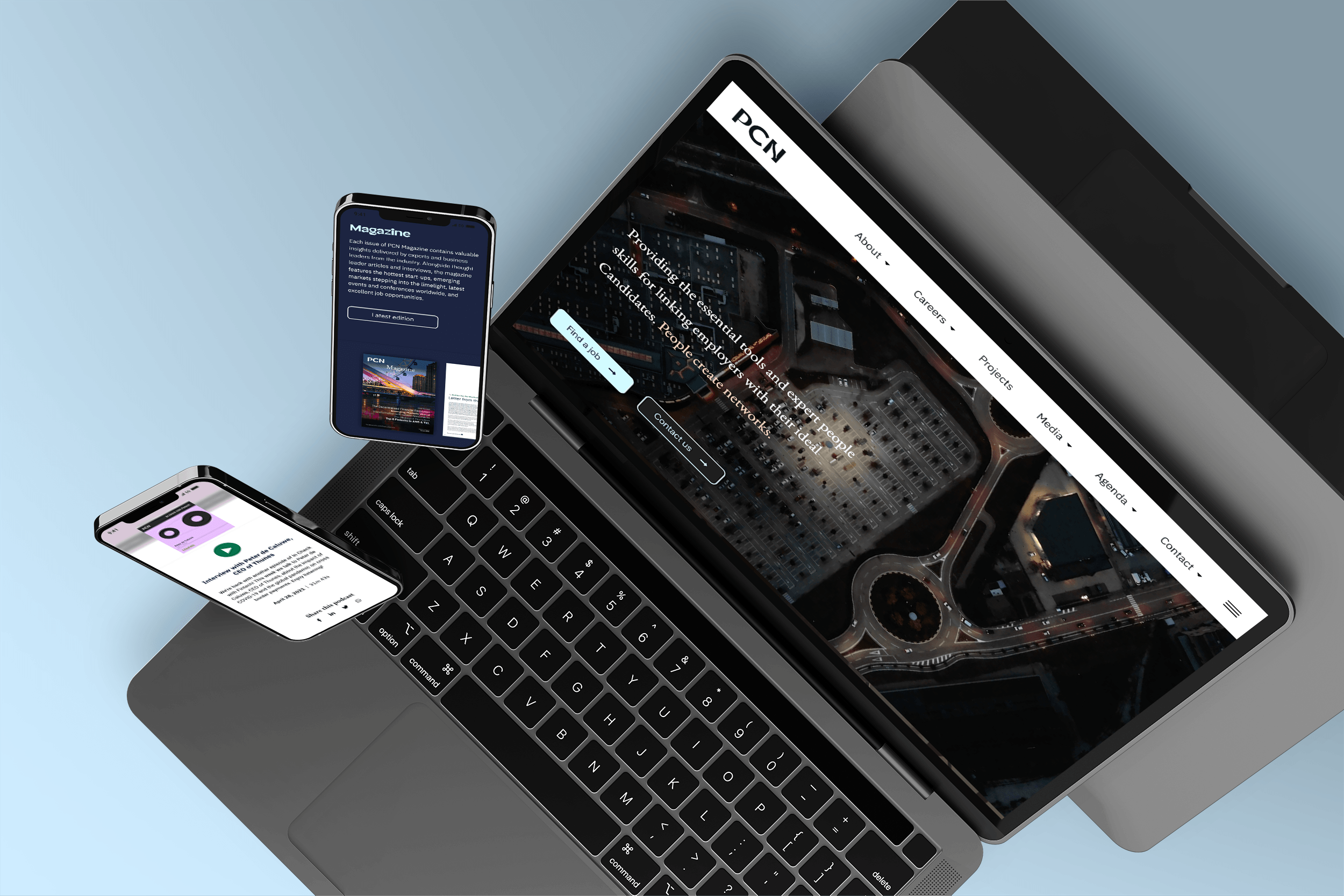 PCN - Website / Platform - Website Creatie