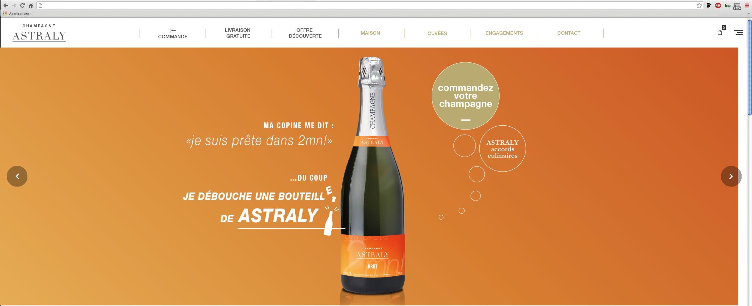 Lancement de Produit ,Lancement Champagne ASTRALY - Evénementiel