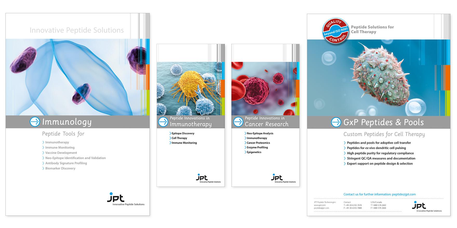 JPT – Produktflyer und -broschüren - Markenbildung & Positionierung