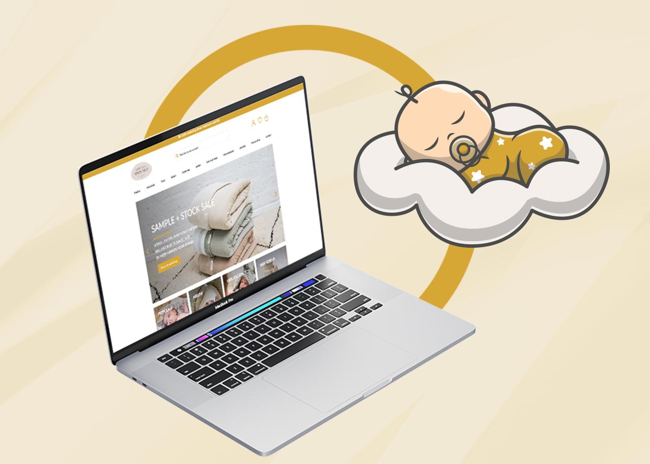 Webdesign en social ads voor Sample + Stock Sale - Online Advertising