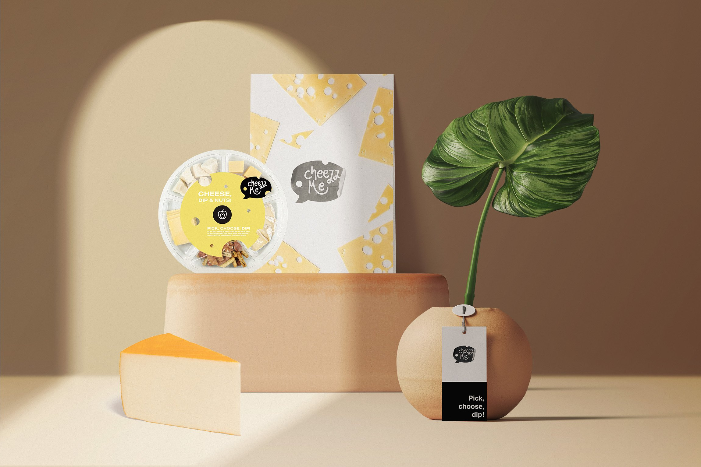 Cheezz Me - Product Branding and Packaging Design - Branding & Positionering