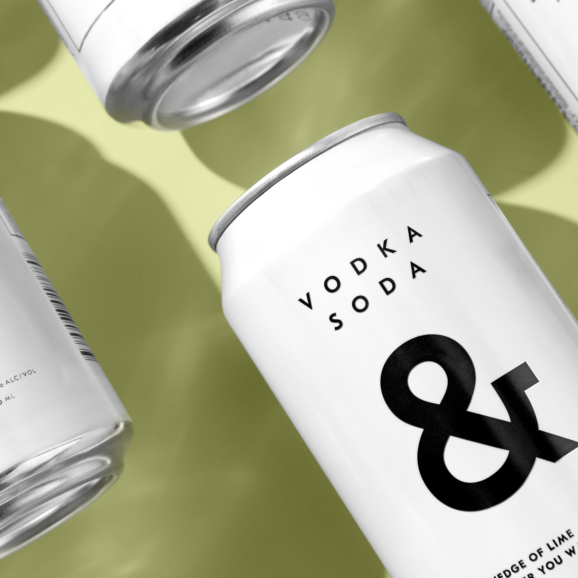 Brand Identity and Packaging for Vodka Soda & - Branding & Positioning