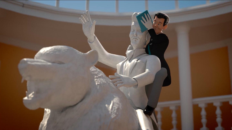 "Wetrok AG: Powersurf ""Statue"" animierter Werbefilm"