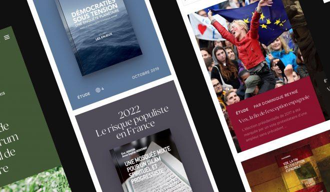 Refonte complète du site internet de la Fondation - Création de site internet