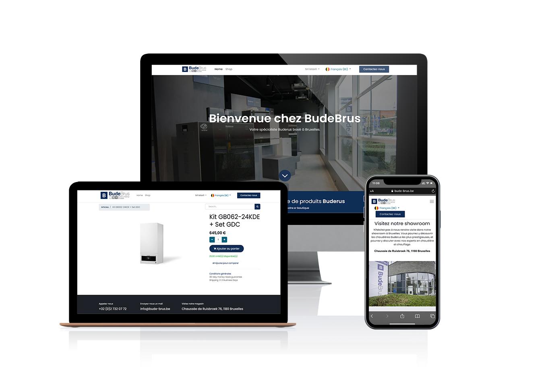 Budebrus- e-commerce - implémentation Odoo V14 - Application web