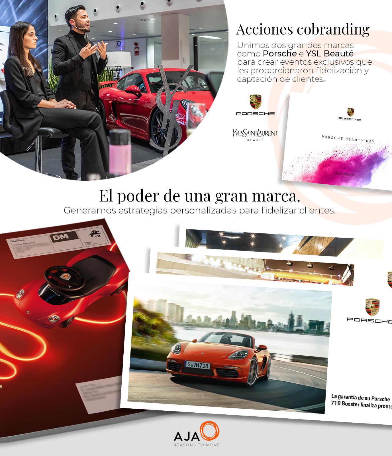 Porsche&YSL: acciones de cobranding