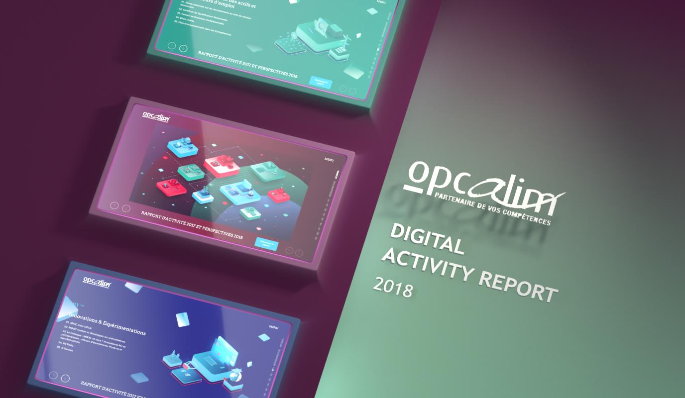 Opcalim / Transformation digitale - Application web