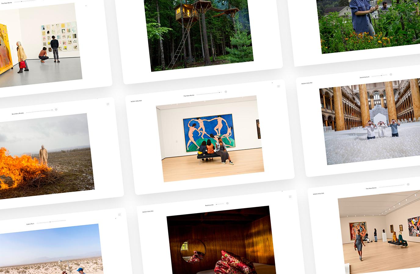 Capturing Noah Kalina's visual essence - Website Creatie