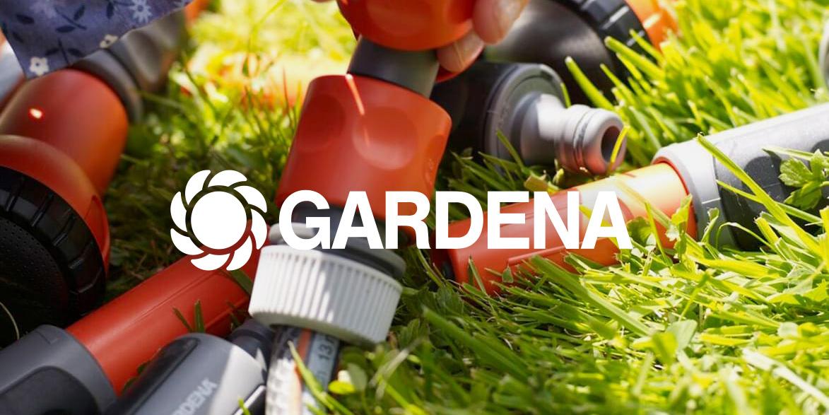 Gardena – Komplexes Sortiment, leicht verpackt