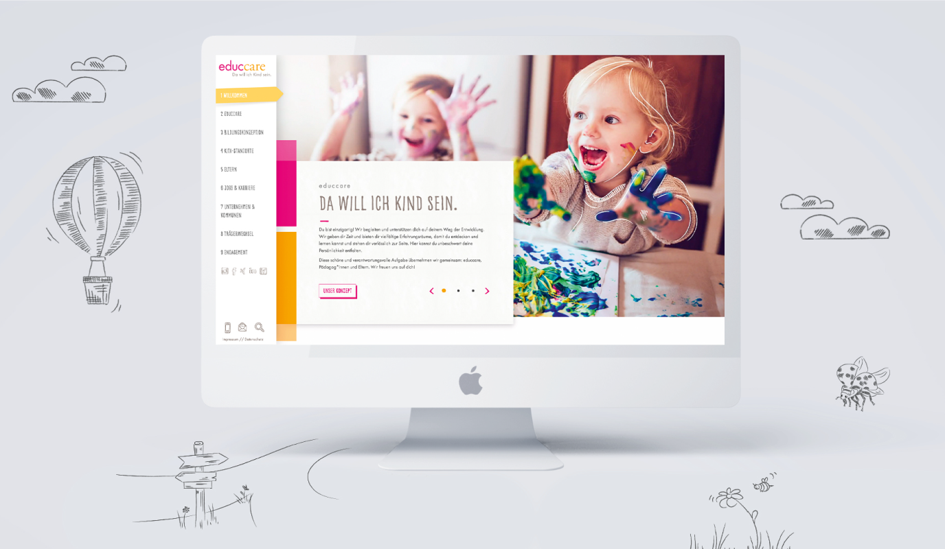 educcare - Employer Brading & Website - Werbung
