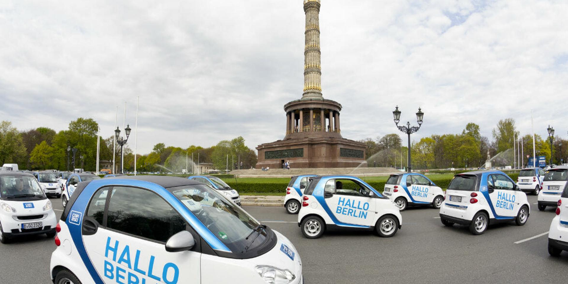 car2go – Launchkampagne - Markenbildung & Positionierung