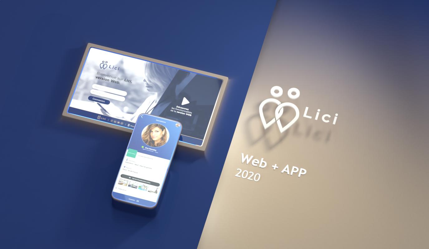 Lici / Acquisition de lead - Application mobile