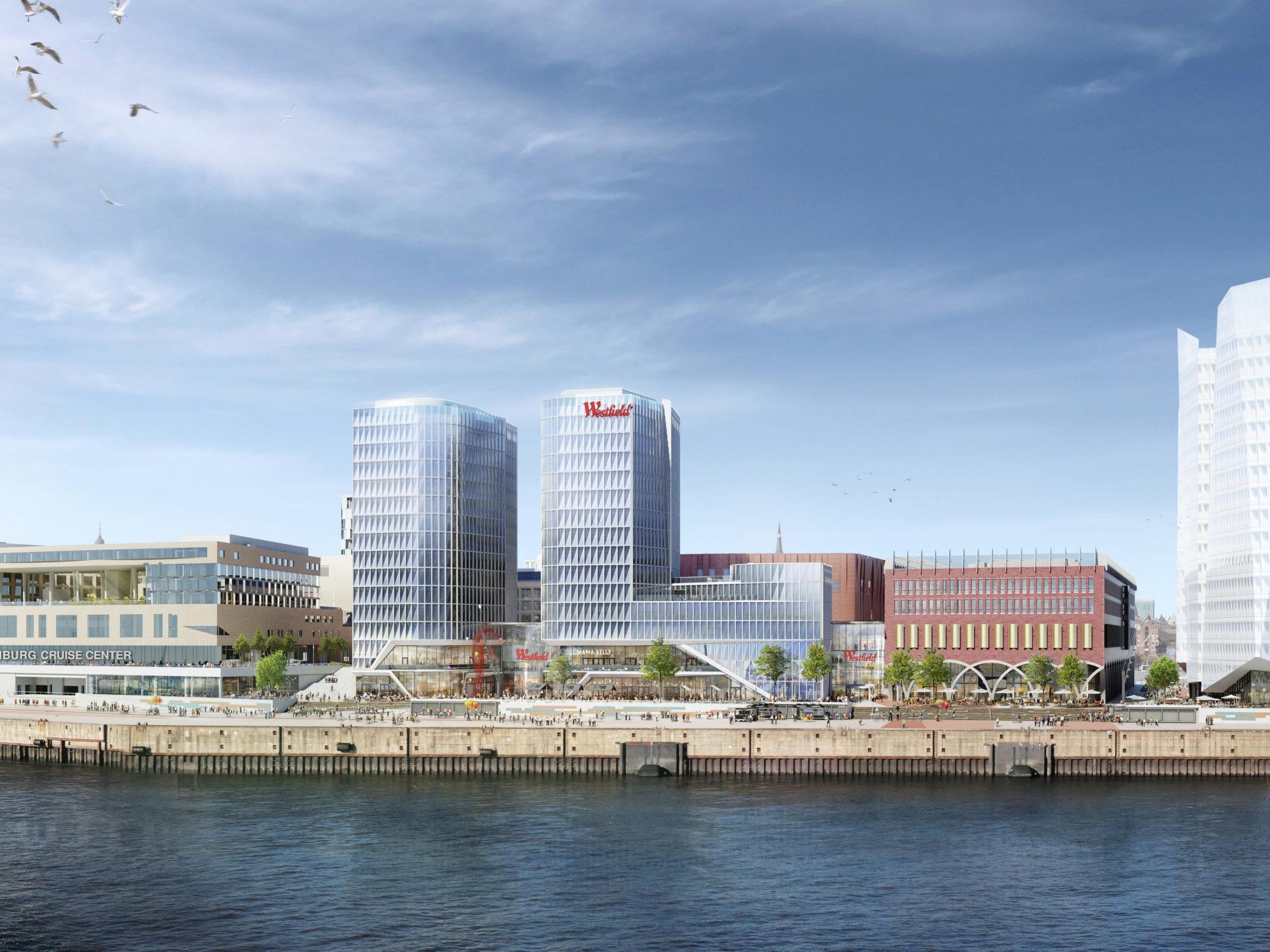 Westfield Hamburg: Fullservice Immobilienmarketing - Webseitengestaltung