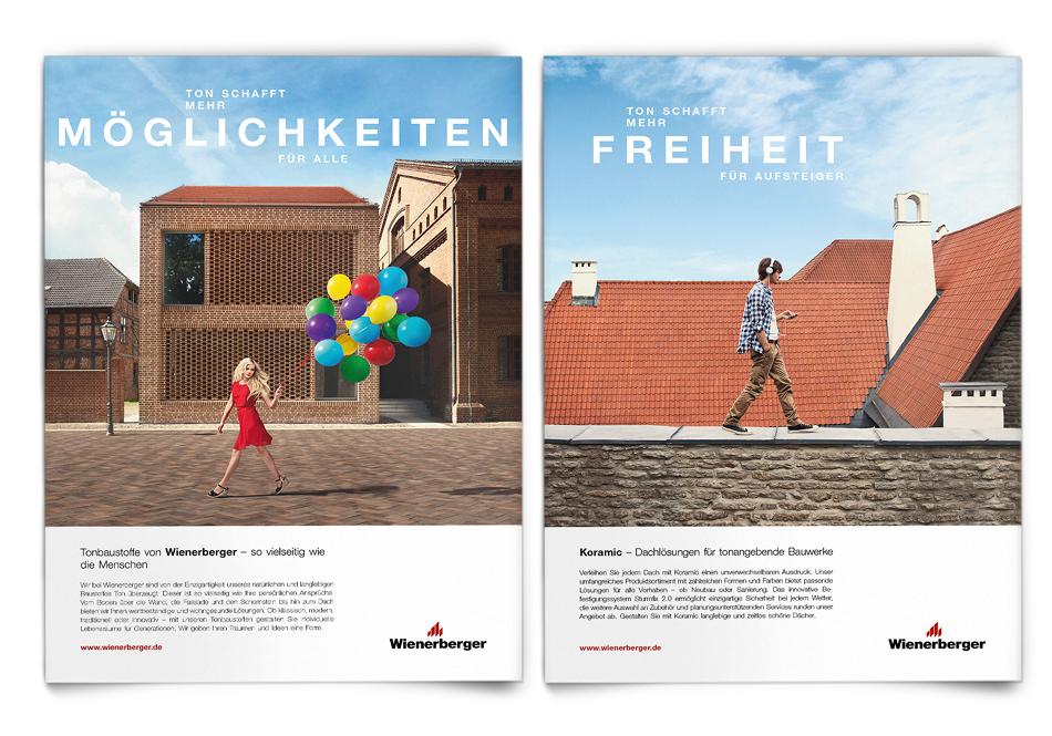 Wienerberger: Mit dem richtigen Ton geht mehr - Markenbildung & Positionierung