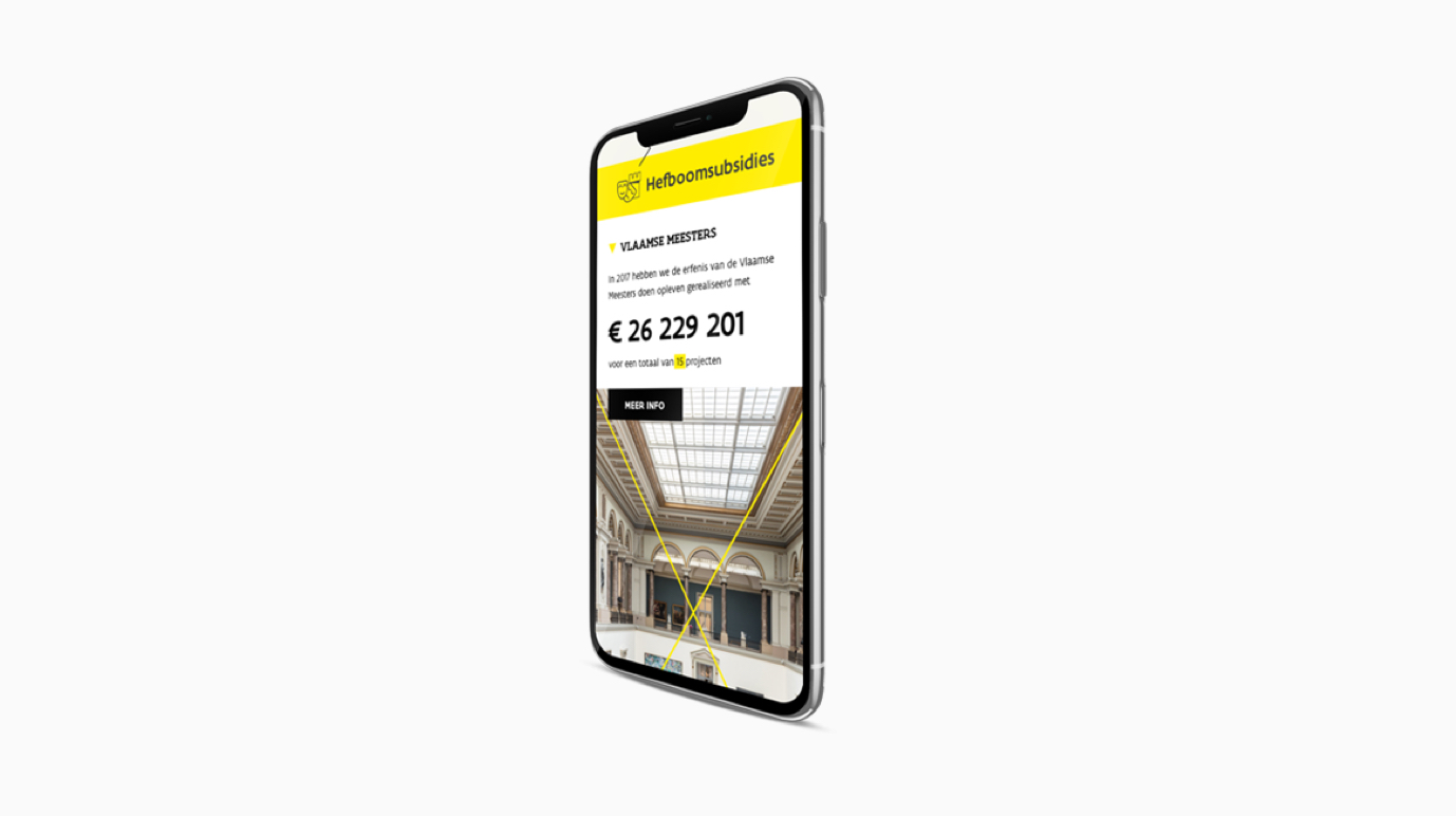 Visit Flanders - Annual Report - Web Applicatie