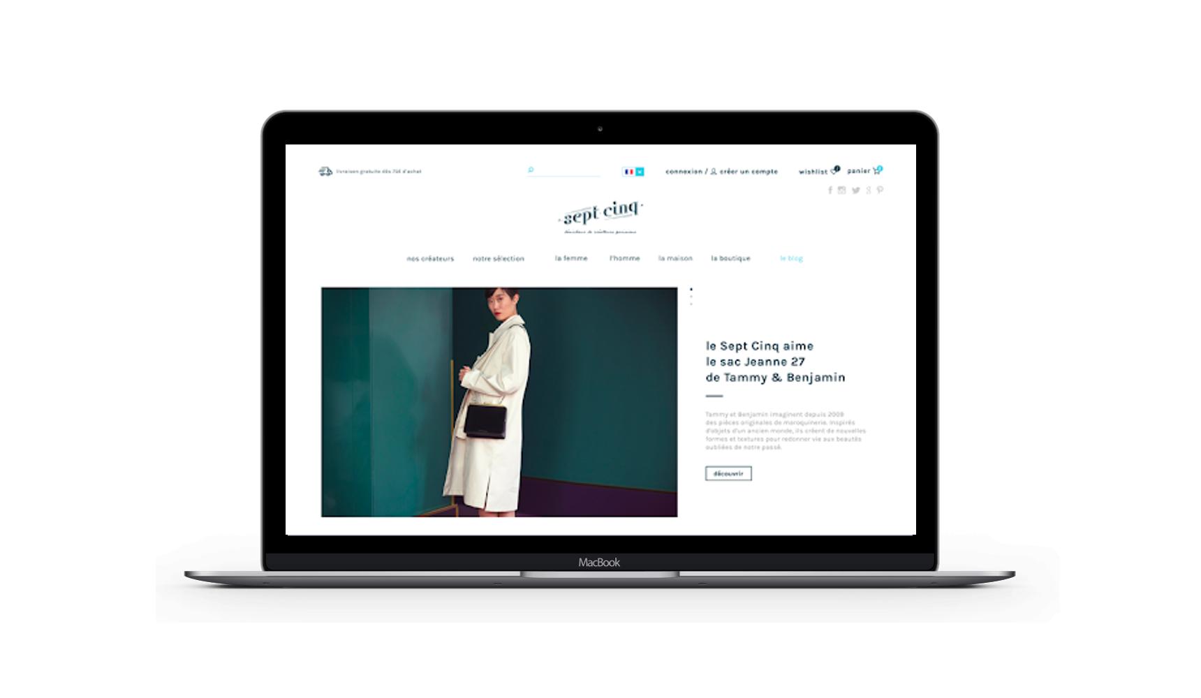 SEPT CINQ - Site e-commerce - E-commerce
