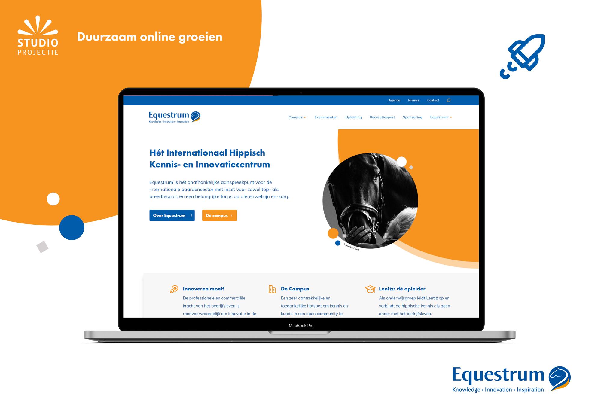 Webdesign & Branding Equestrum - Website Creation