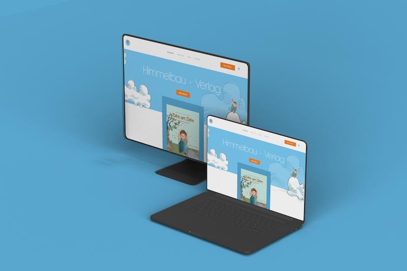 UX/UI Design   Himmelbau - Verlag - E-Commerce