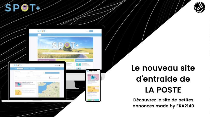 SPOT+ pour le groupe La Poste - Website Creation