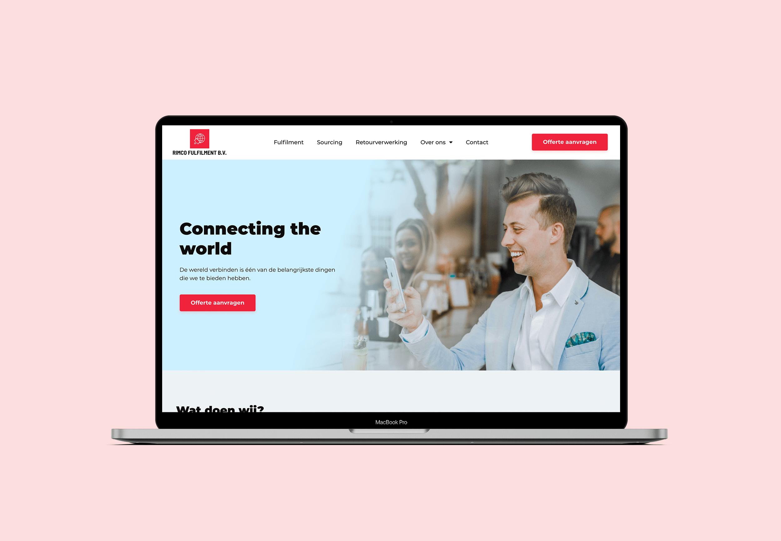 Rimco Fulfilment - Website