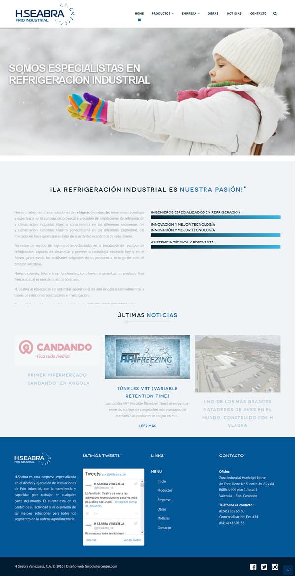 www.hseabra.com.ve - Website Creation