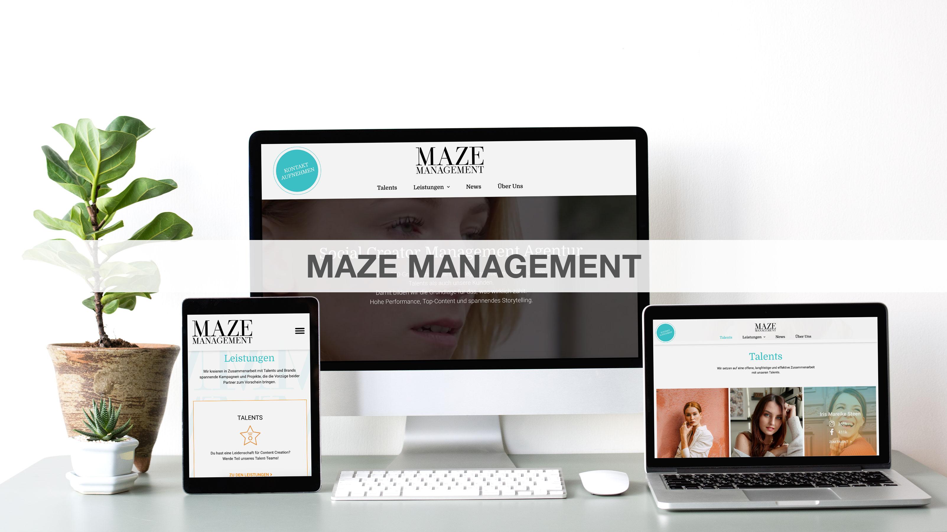 Maze Management - Markenbildung & Positionierung