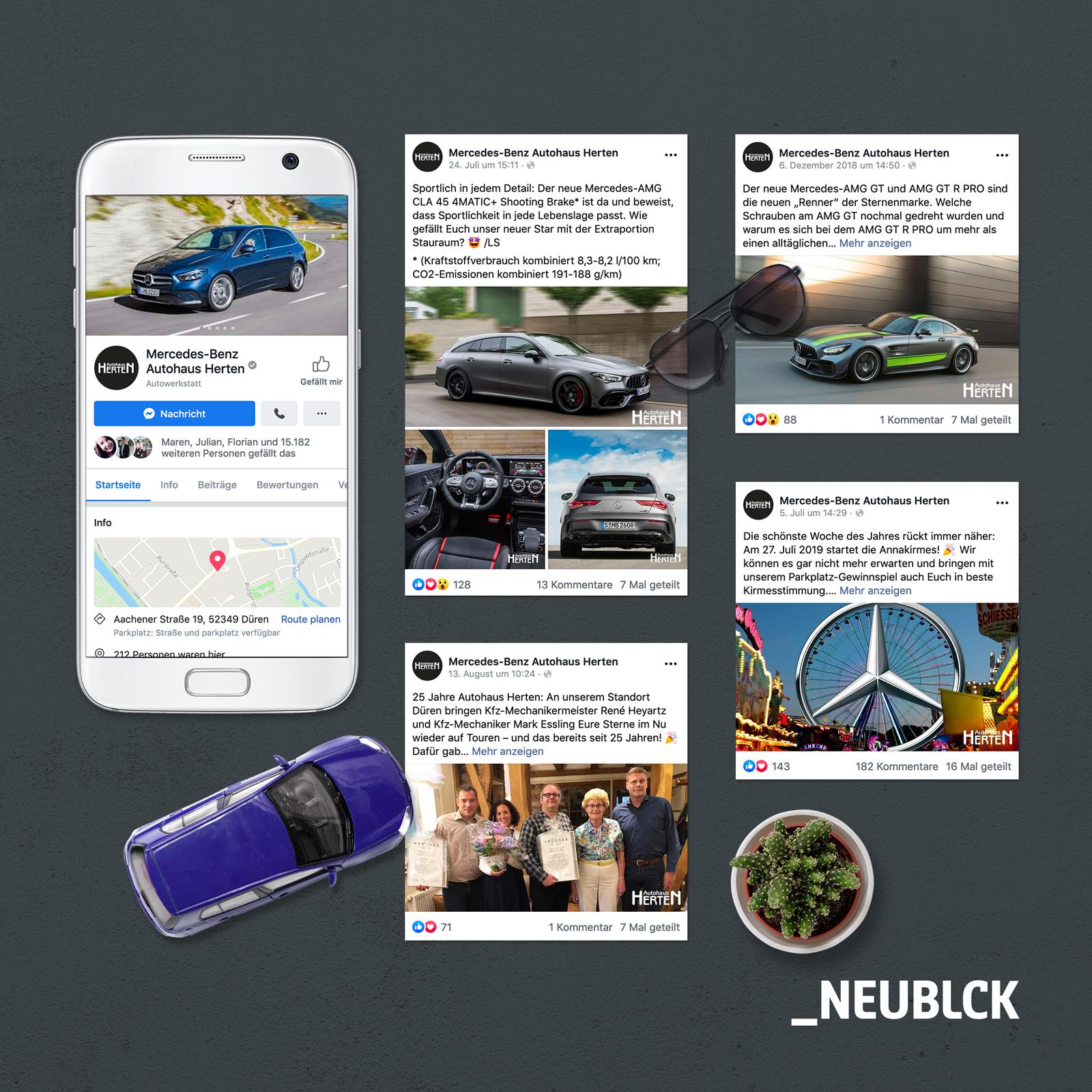 Autohaus Herten Gruppen: Onlinemarketing - Onlinewerbung