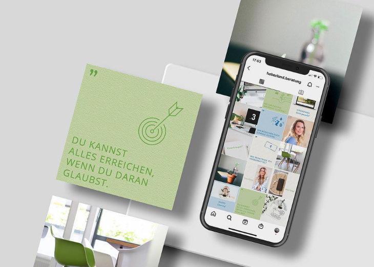 Instagram Corporate Design