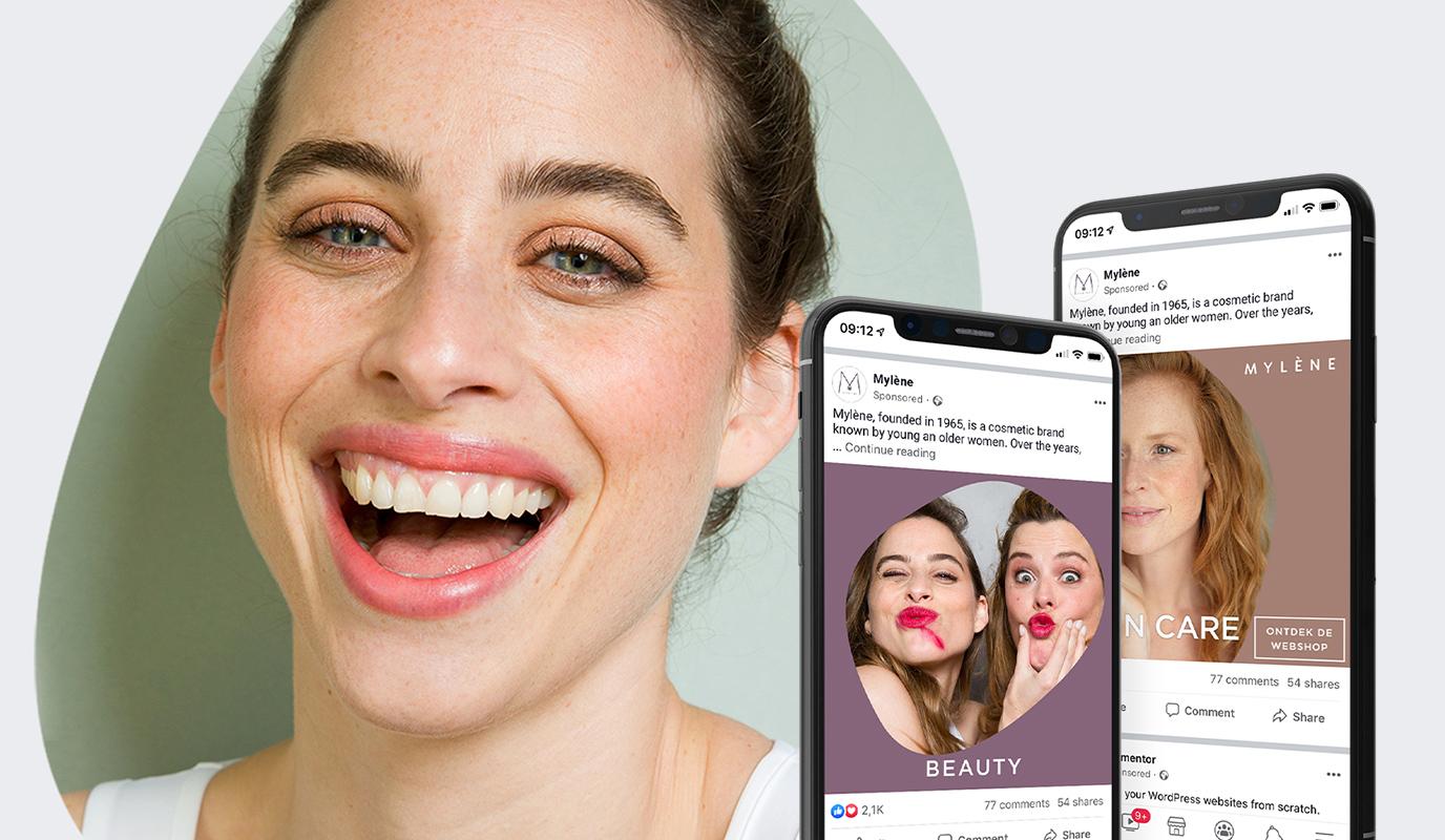 Mylène launch campaign | Social media