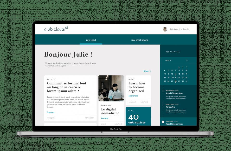 Clover- accompagnement digital - Création de site internet