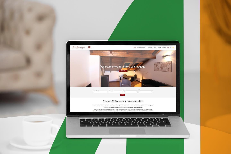 Apartamentos La Sinagoga - Creación de Sitios Web