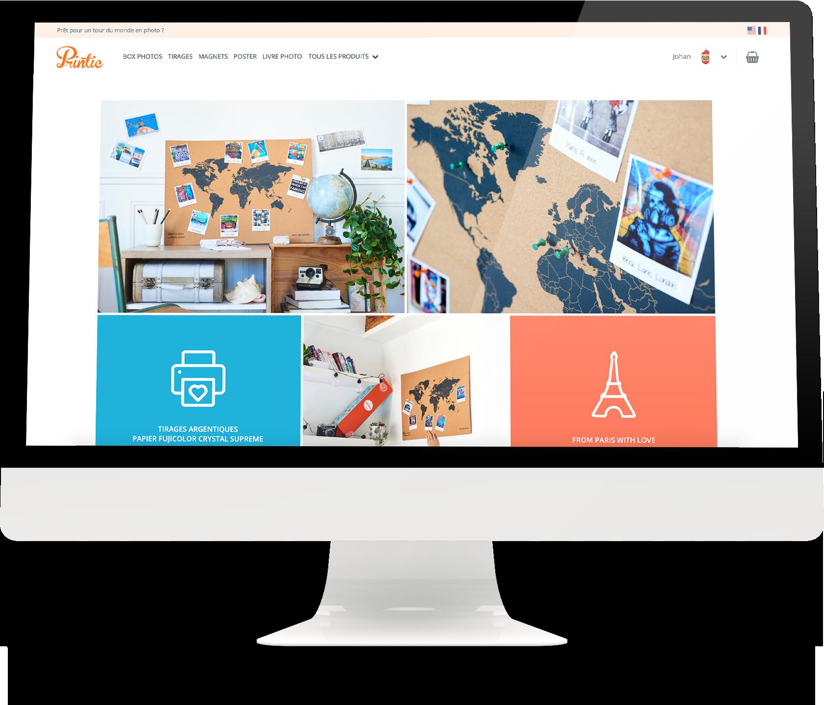 Printic Web   Application Web