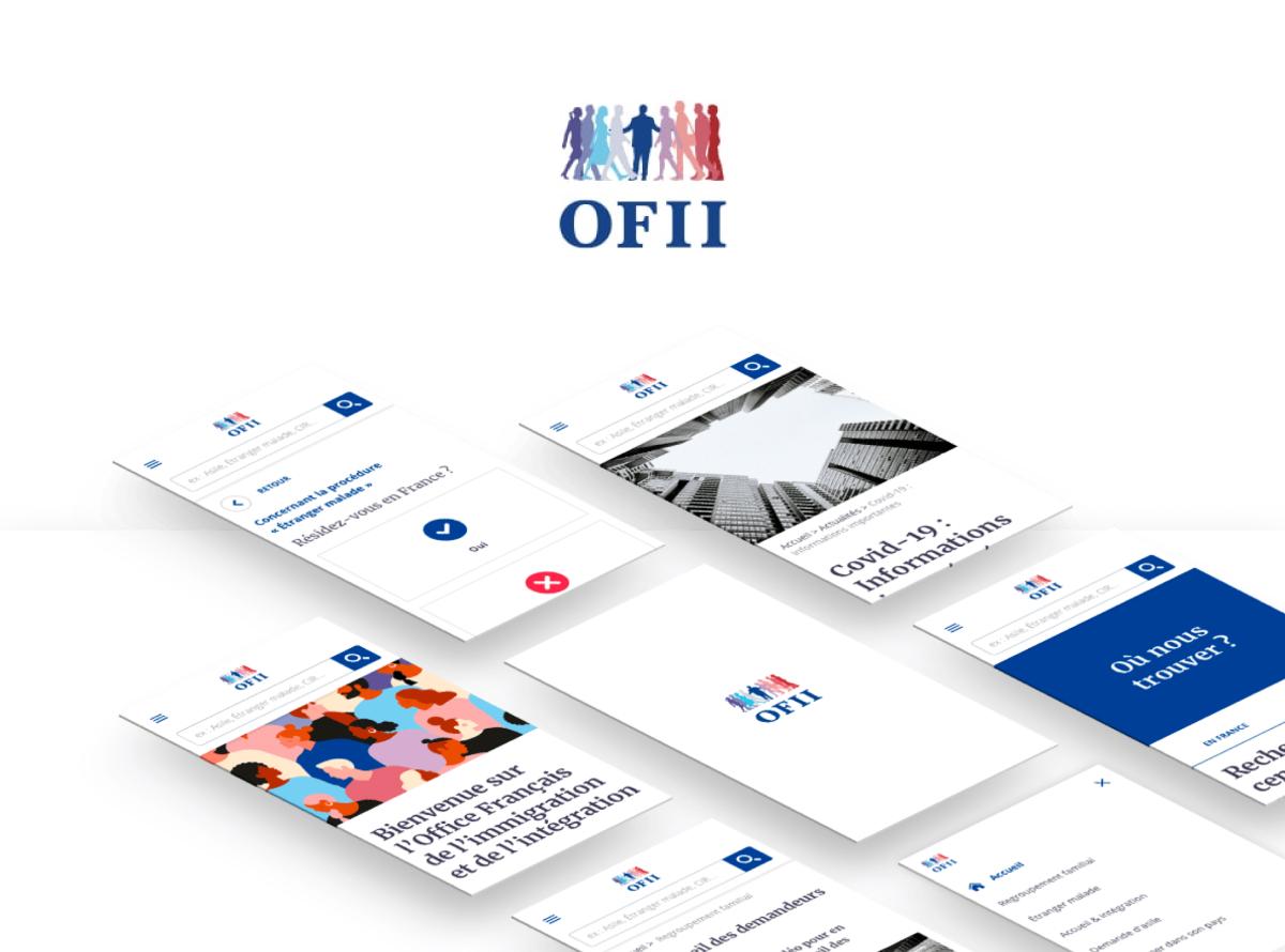 OFII - Refonte Site Vitrine & Communication - Création de site internet
