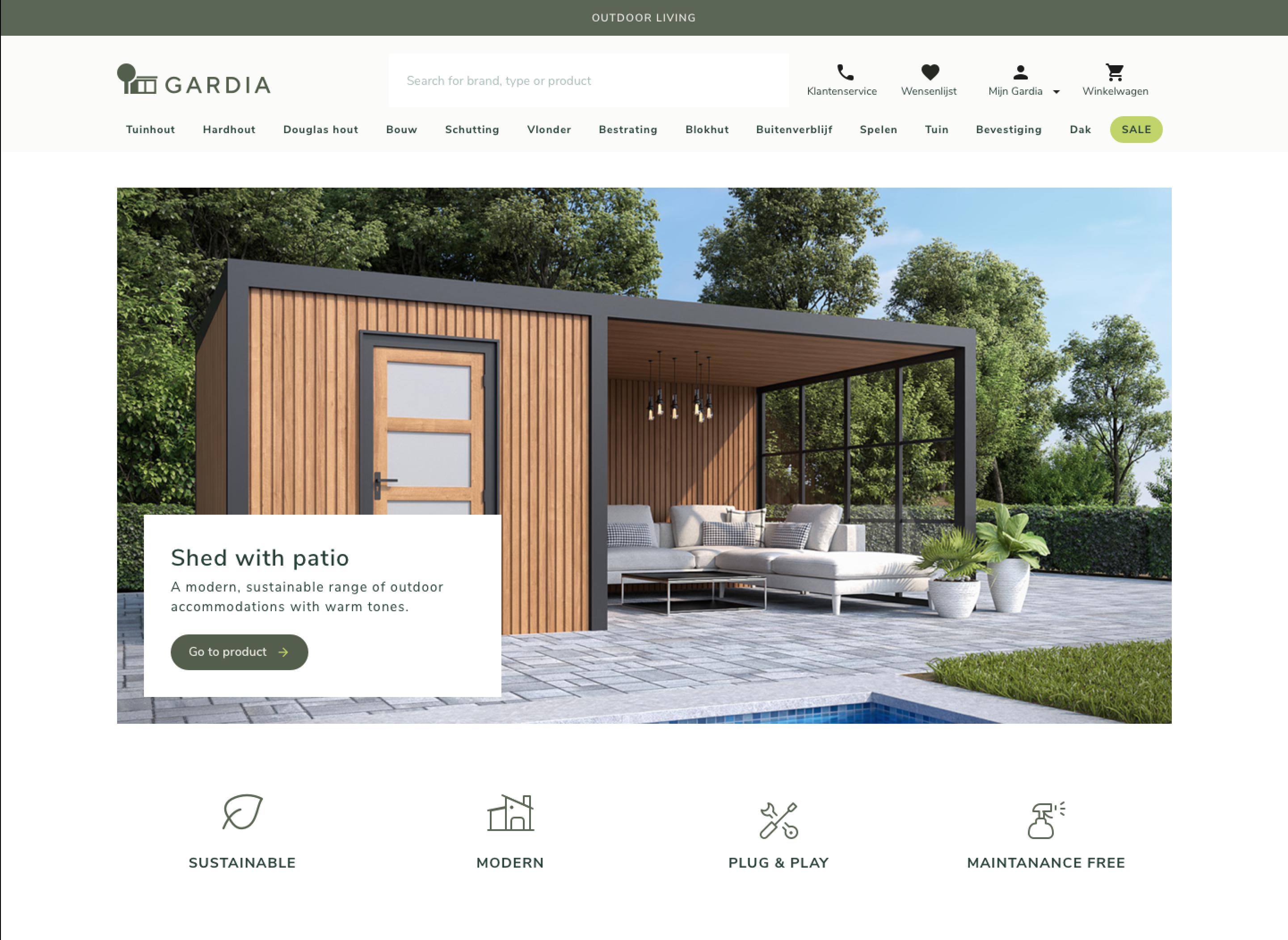 E-commerce Platform Redesign - Website Creatie
